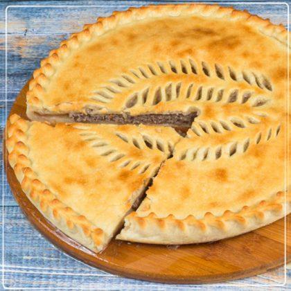 Пирог «Княжеский» мясной