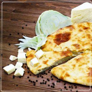 Пирог с капустой и сыром